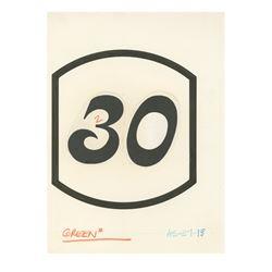 Lafitte's Silver Shop Address Plaque Design.