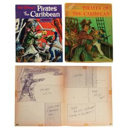 Hand-Drawn Pirates of the Caribbean Guidebook.