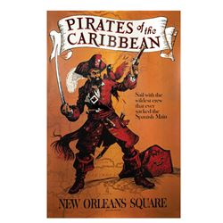 Pirates Disney Gallery Attraction Poster.