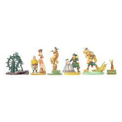Pirates of the Caribbean Pewter Miniatures.