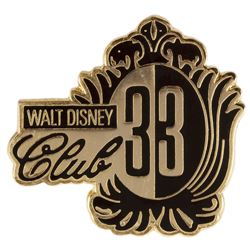 Club 33 Error Pin.