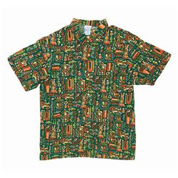"Club 33 ""Summer of Tiki"" Hawaiian Shirt."