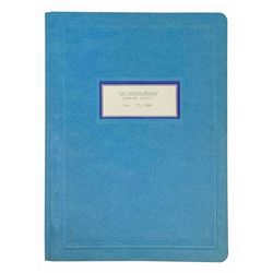 1968 WED Imagineering Haunted Mansion Script.