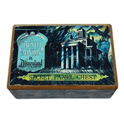 Disneyland Haunted Mansion Secret Panel Chest.