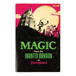 Magic from the Haunted Mansion Book.