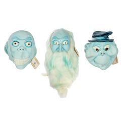 Set of (3) Don Post Hitchhiking Ghosts Masks.