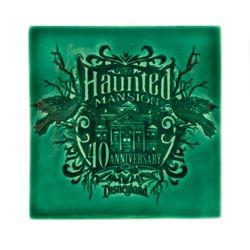 Haunted Mansion 40th Anniversary Ceramic Tile.