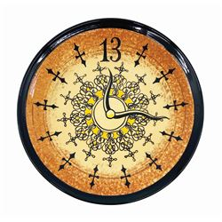 Haunted Mansion One-of-a-Kind Grandfather Clock Plate.