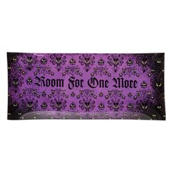 "Haunted Mansion ""Room for One More"" Glass Tray."