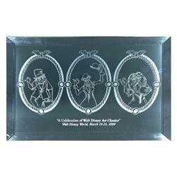 Walt Disney World Haunted Mansion Etched Mirror.