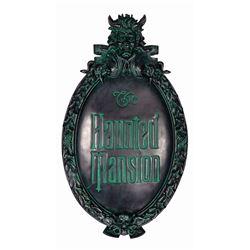 Haunted Mansion 45th Anniversary Plaque.