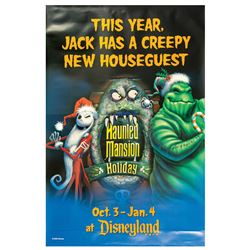 Haunted Mansion Holiday Large Poster.