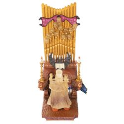 Haunted Mansion Organ Player Ghost Figurine.
