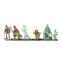 Haunted Mansion Pewter Miniatures.