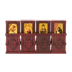 Set of (4) Haunted Mansion Olszewski Pokitpals.