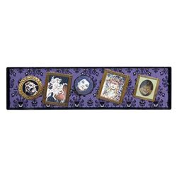 Haunted Mansion Lenticular Pins Boxed Set.