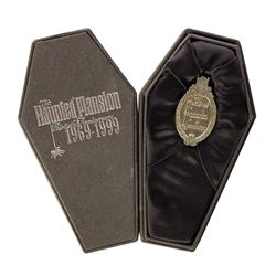 Haunted Mansion 30th Anniversary Pin with Coffin Box.