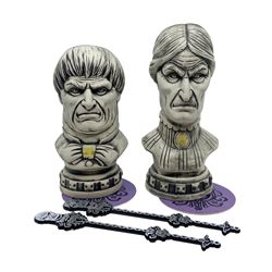 Pair of Club 33 Haunted Mansion Tiki Mugs.
