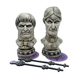 Pair of Club 33 Haunted Mansion Tiki Mugs.