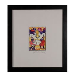 Original David Willardson Mickey & Minnie Painting.