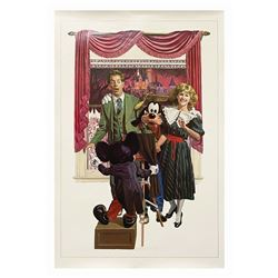 A Nite to Remember Lithograph Signed by Charles Boyer