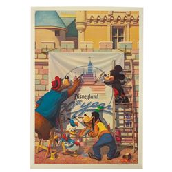 The Painters Lithograph Signed by Charles Boyer.