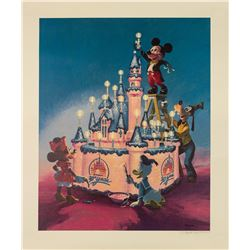 30th Anniversary Lithograph Signed by Charles Boyer.