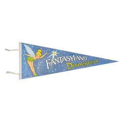 Fantasyland Souvenir Pennant.