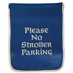 "Fantasyland ""No Stroller Parking"" Flag."