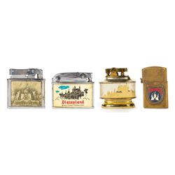 Set of (4) Sleeping Beauty Castle Disneyland Lighters.