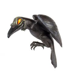 Snow White's Scary Adventure Raven Model.