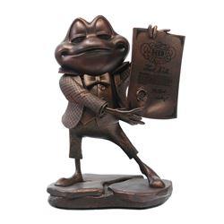 Mr. Toad's Wild Ride Bronze Figure.
