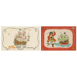 Pair of Chicken of the Sea Placemats,