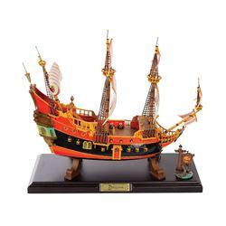 Disneyland Pirate Ship Restaurant Replica.