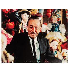 Walt Disney It's A Small World Presentation Photo.