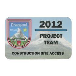 Matterhorn Project Team Construction Badge.