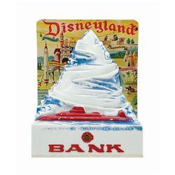 Matterhorn Bobsleds Tin-Litho Coin Bank