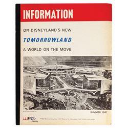 1967 New Tomorrowland Press Booklet.