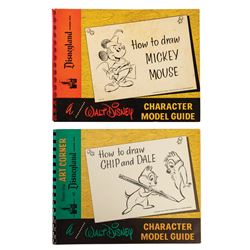 Pair of Art Corner Character Model Guides.