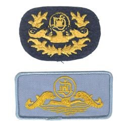 Pair of Submarine Voyage Cast Member Patches.