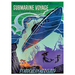 Submarine Voyage Disney Gallery Attraction Poster.