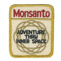 Adventure Thru Inner Space Costume Patch.