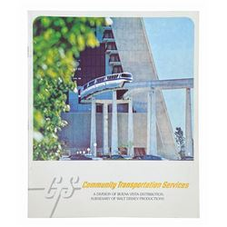 """Community Transportation Services"" Booklet."