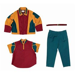 Tomorrowland Rocket Rods Cast Member Uniform.
