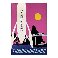 Tomorrowland Near Attraction Poster.