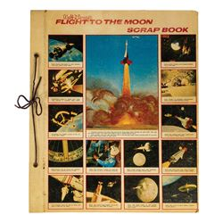 Flight to the Moon Scrapbook.