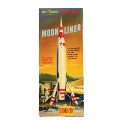 Strombecker Moonliner Scale Model Set.