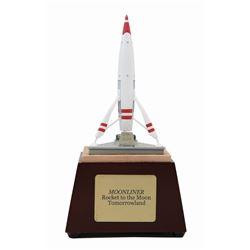 Olszewski Moonliner Rocket Model.