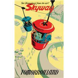 Original Skyway Attraction Poster.