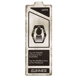 Millennium Falcon: Smugglers Run Gunner Card.